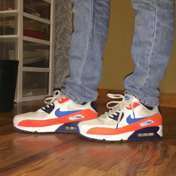 Nike Shoes | Nike Air Max 9 Orange Blue